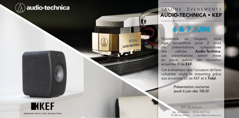 Salon Audio Technica KEF