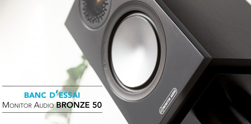 Banc essai monitor audio bronze 50